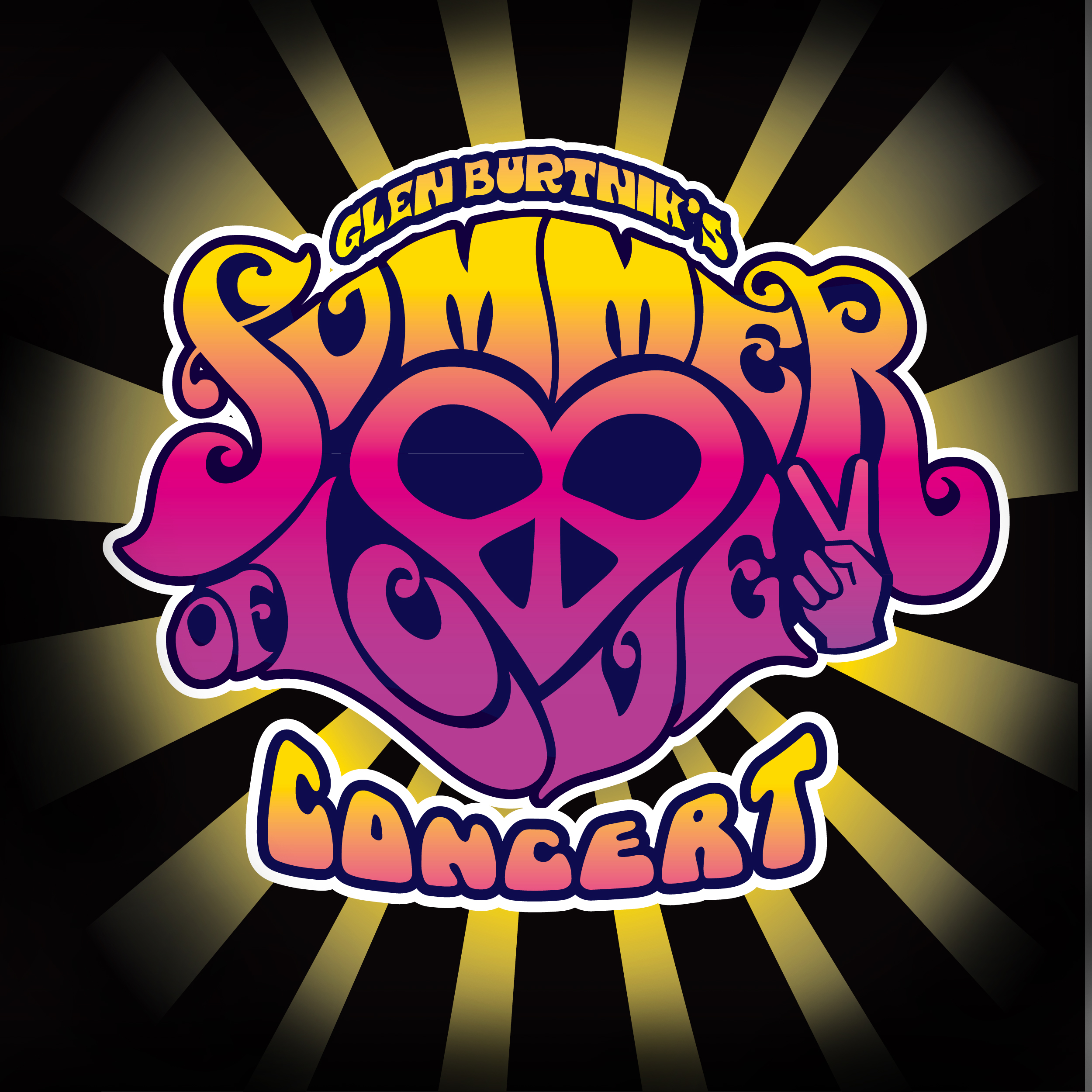 Summer of Love High Resolution Logo Black